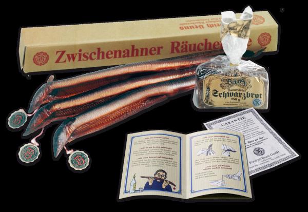 Feinste Zwischenahner Räucheraale (750g)